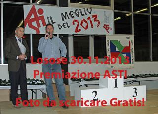 Losone 30.11.2013 - Premiazione ASTI